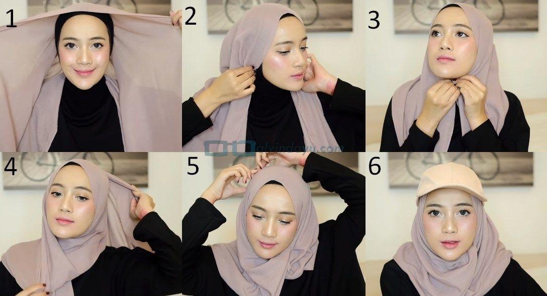 Tutorial Hijab Pashmina Untuk Remaja Kursus Hijab Wajah Hijab