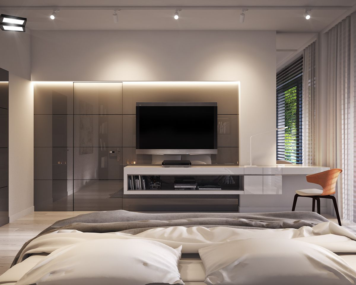 Bedroom In Private Apartment Vis For Lk Projekt Pl On