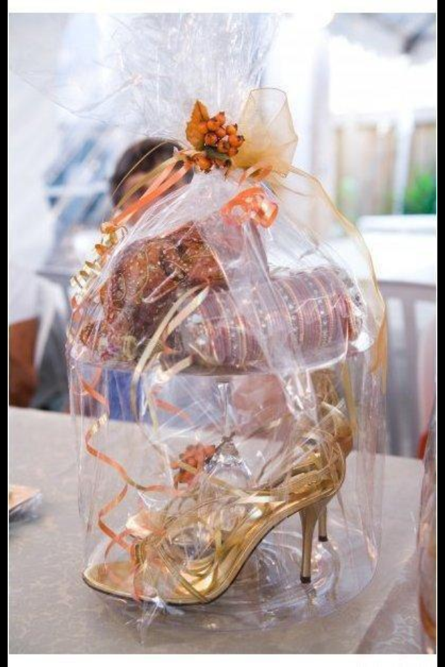 Shoes & Bag gift presentation Wedding gifts packaging