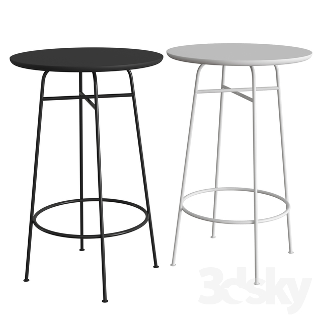 3d Models Table Afteroom Bar Table Bar Table Table Afteroom