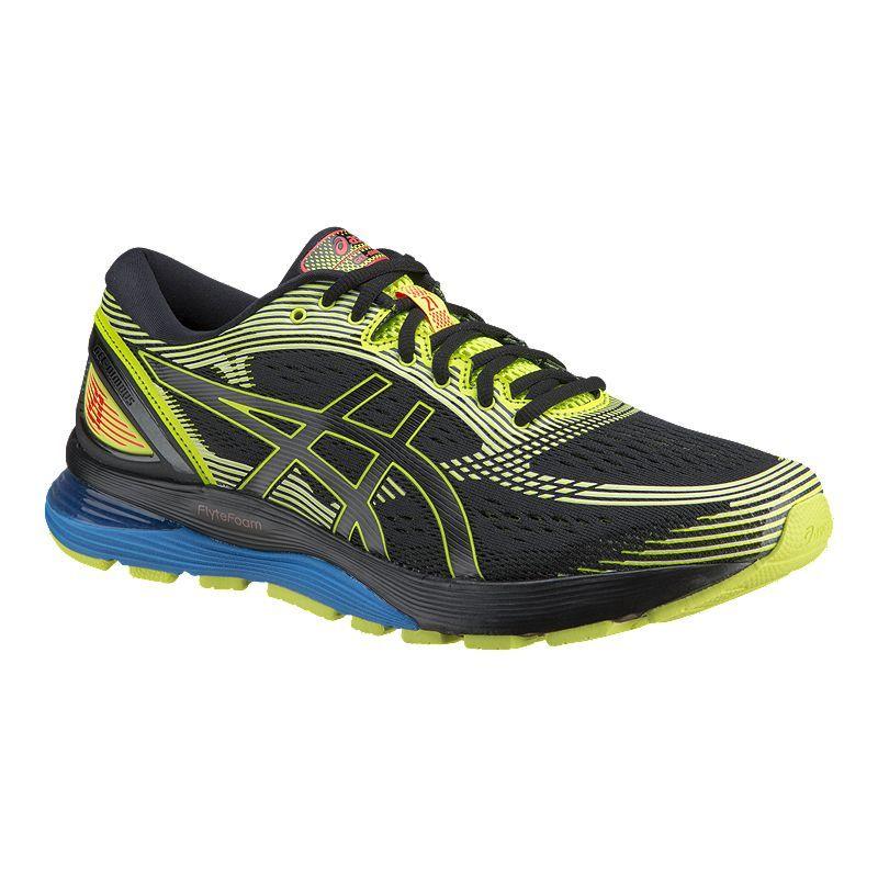 ASICS Men's Gel Nimbus 21 SP Running Shoes BlackYellow in