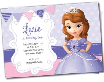 Sofia the first birthday sofia the first invitation sofia the items similar to sofia the first birthday sofia the first invitation sofia the first thank you cards disney princess sofia the first cupcake topper on bookmarktalkfo Gallery