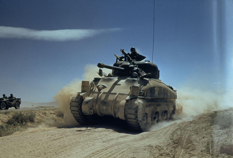 Scenes of 'Fury': The Brutal Reality of Tank Warfare in World War II