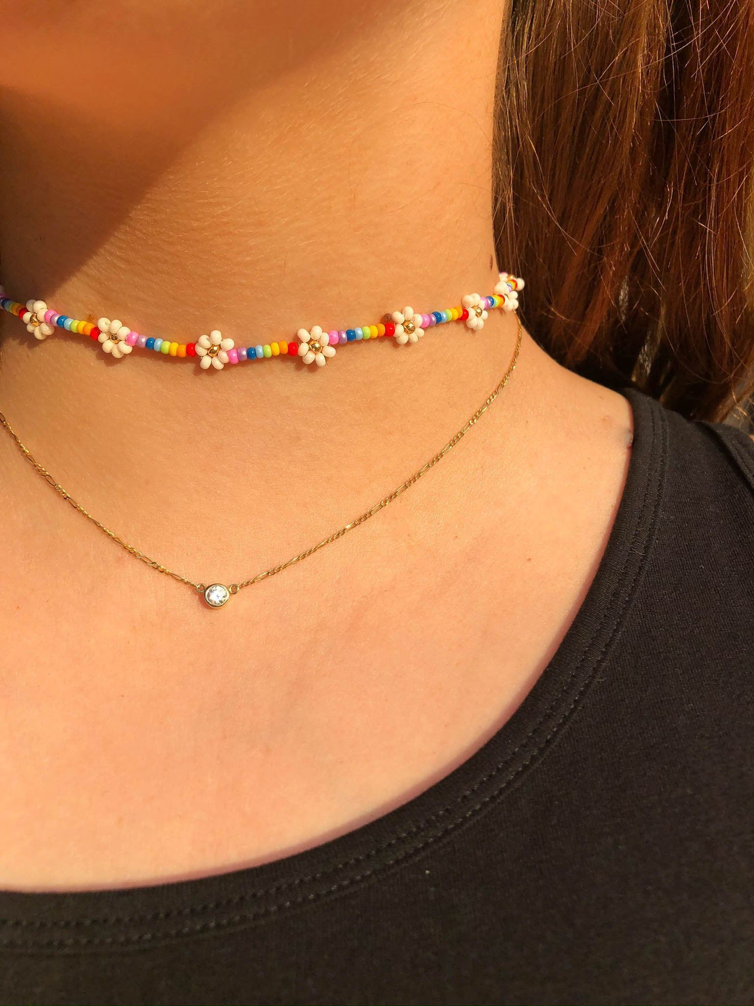 CLEO Chocker Gold Choker Necklace Delicate Necklace Simple Gold Choker Necklace for women Gold Necklace for women Necklace for Women