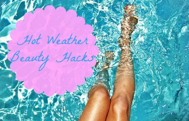 Hot Weather Beauty Hacks Hot weather can be a blessing and a curse. Beautiful days spent in the sun can be a sneaky disguise for beauty disasters such as frizzy hair or clogged pores… YUCK! I have a few hacks on how deal with the hot outdoors and get one step ahead of the Mother Nature! What's one of the first things th... Read More at http://www.chelseacrockett.com/wp/beauty/hot-weather-beauty-hacks/. Tags: #Beauty, #Hacks, #Hotweather, #Summer, #Tips, #Tricks, #