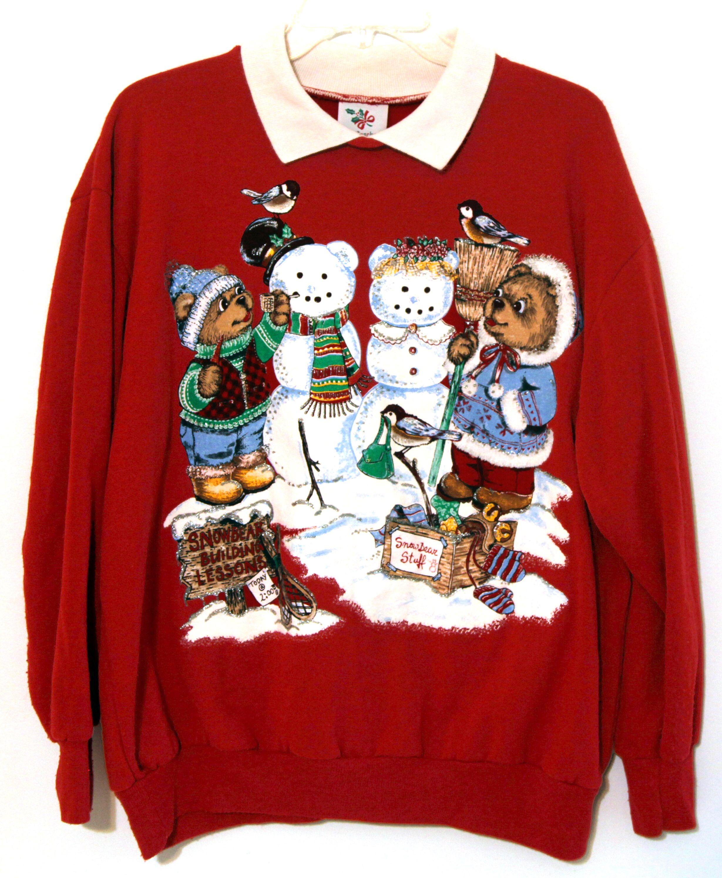 Pin on 80s 90s Christmas Sweatshirts