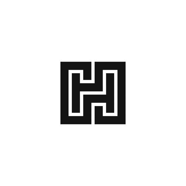 Hh Unused Mark Symbol Mark Logo Logotype Typetopia