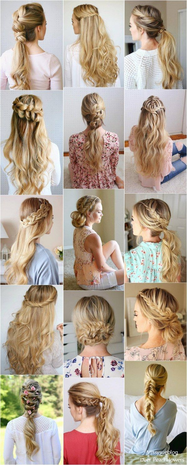 Long wedding u prom hairstyles from missysueblog missysue