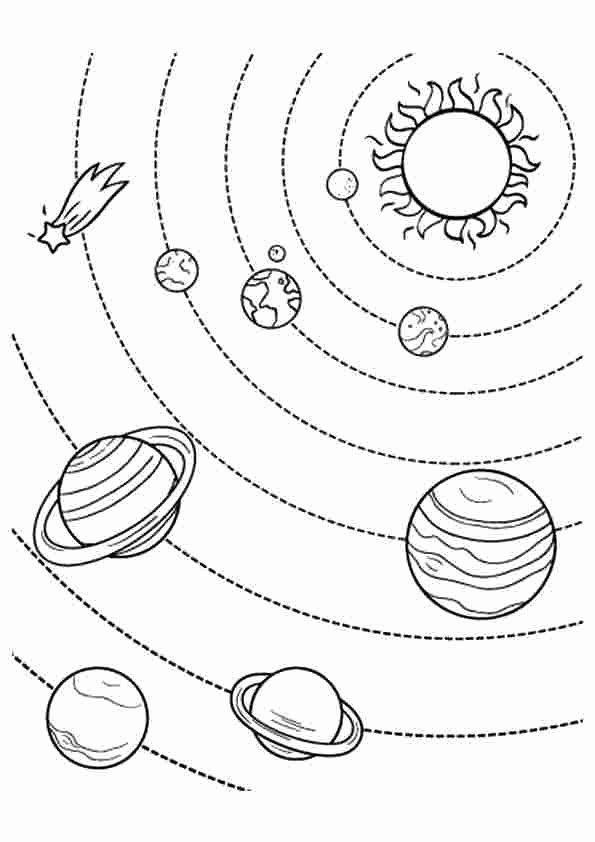 Free Printable Space Coloring Pages Elegant Coloring Pages ...