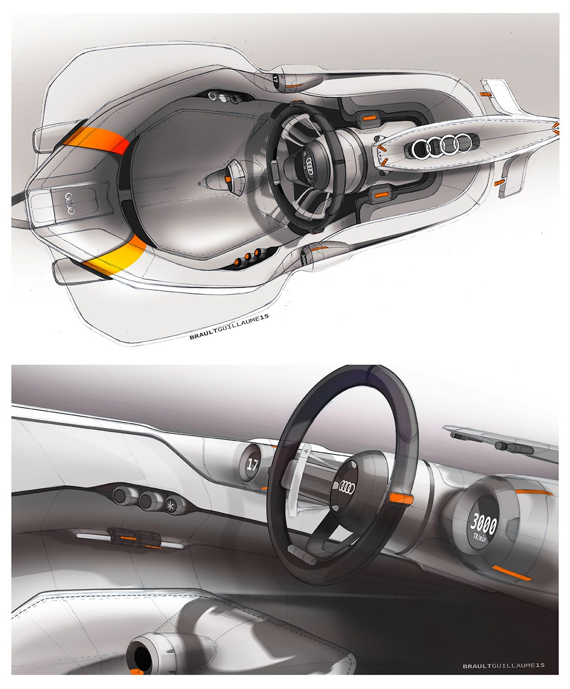 Auto Union Racing Car Revival Work In Progress On Behance