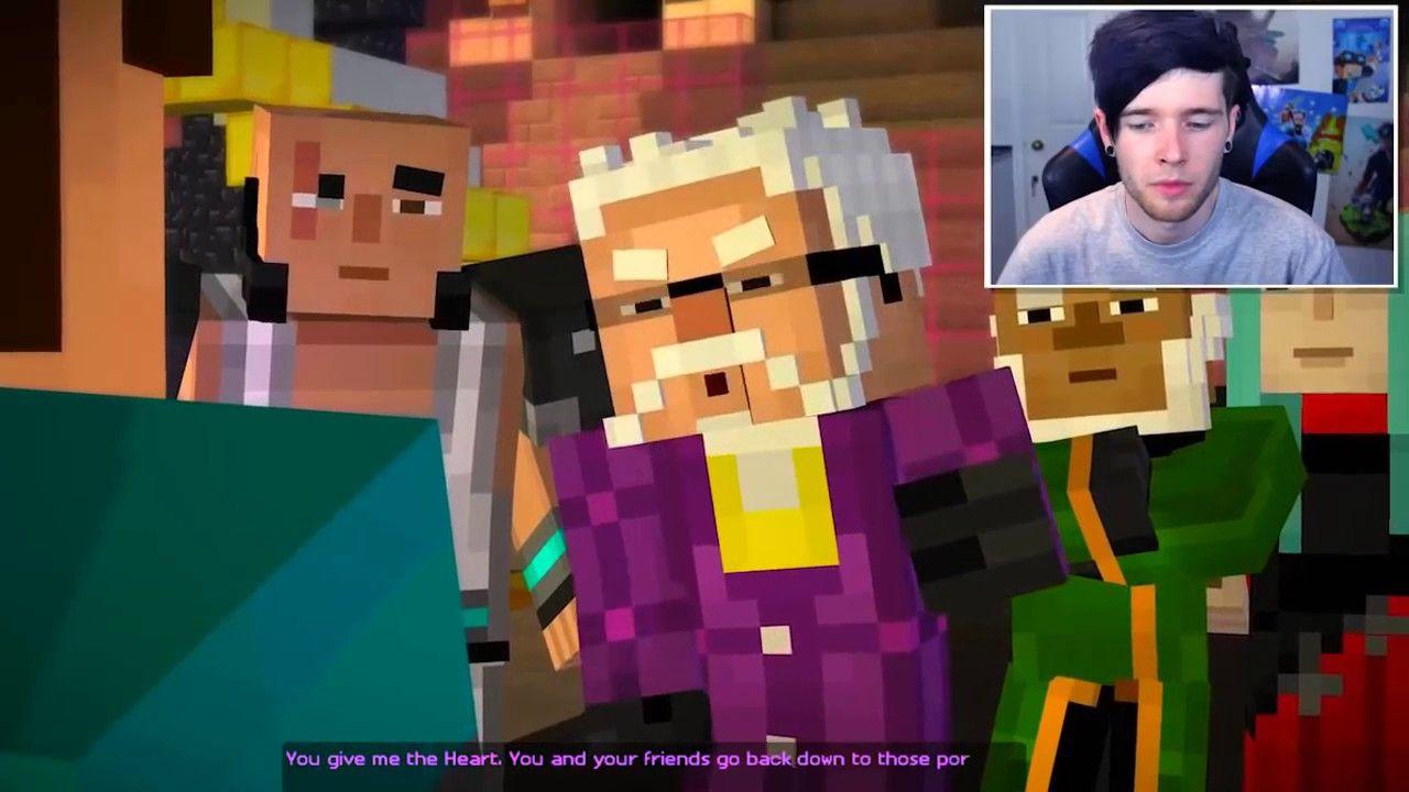 Dantdm Minecraft Story Mode A Journey S End Episode 8 1 Dantdm