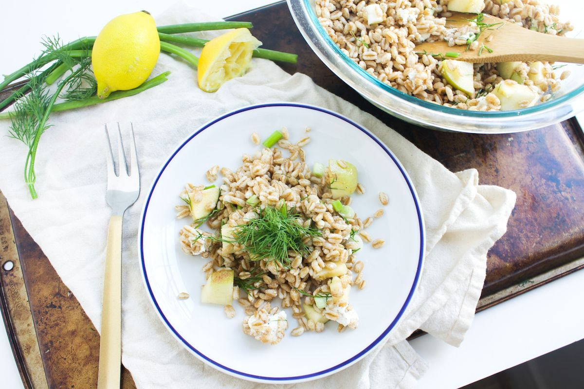 33 food picnic salads springtime farro salad runway