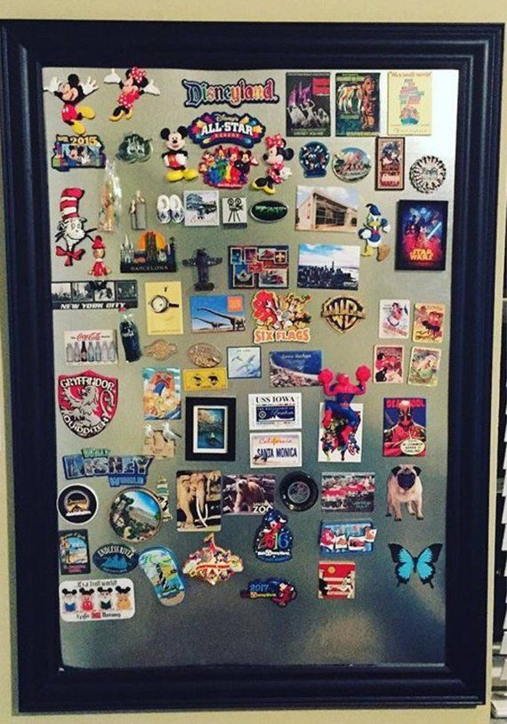 Large Magnet Board Travel Souvenir Souvenir Display Magnetic Board Travel Wall Decor