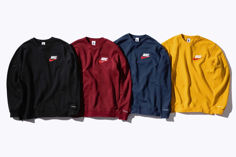 Supreme X Nike Sweatshirt Supreme Clothing Adidas Jacket Sweatsuit [ 2000 x 3000 Pixel ]