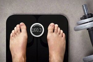 The Fitbit Aria SmartScale does more than read you a number based on your weight. This scale covers your body mass-index, body fat percentage, and, well, weight.    Really like their products