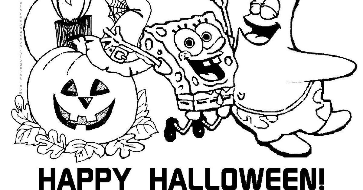Https Ift Tt 2scuzzw Printable Spongebob Coloring Pages Halloween Coloring Pages In 2020 Halloween Coloring Pages Free Halloween Coloring Pages Disney Coloring Pages