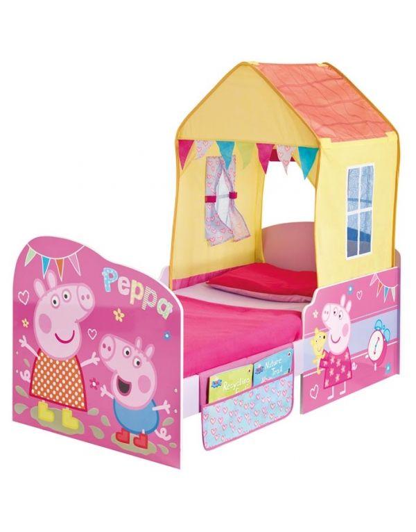 Cama casita infantil peppa 600 766 casa - Cama casita infantil ...