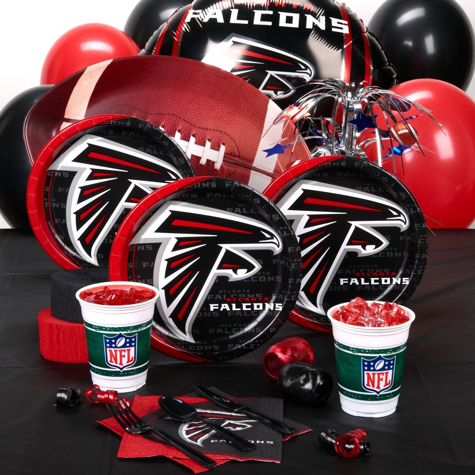 Atlanta Falcons Party Supplies Atlanta Falcons Party Falcons Party Atlanta Falcons Birthday