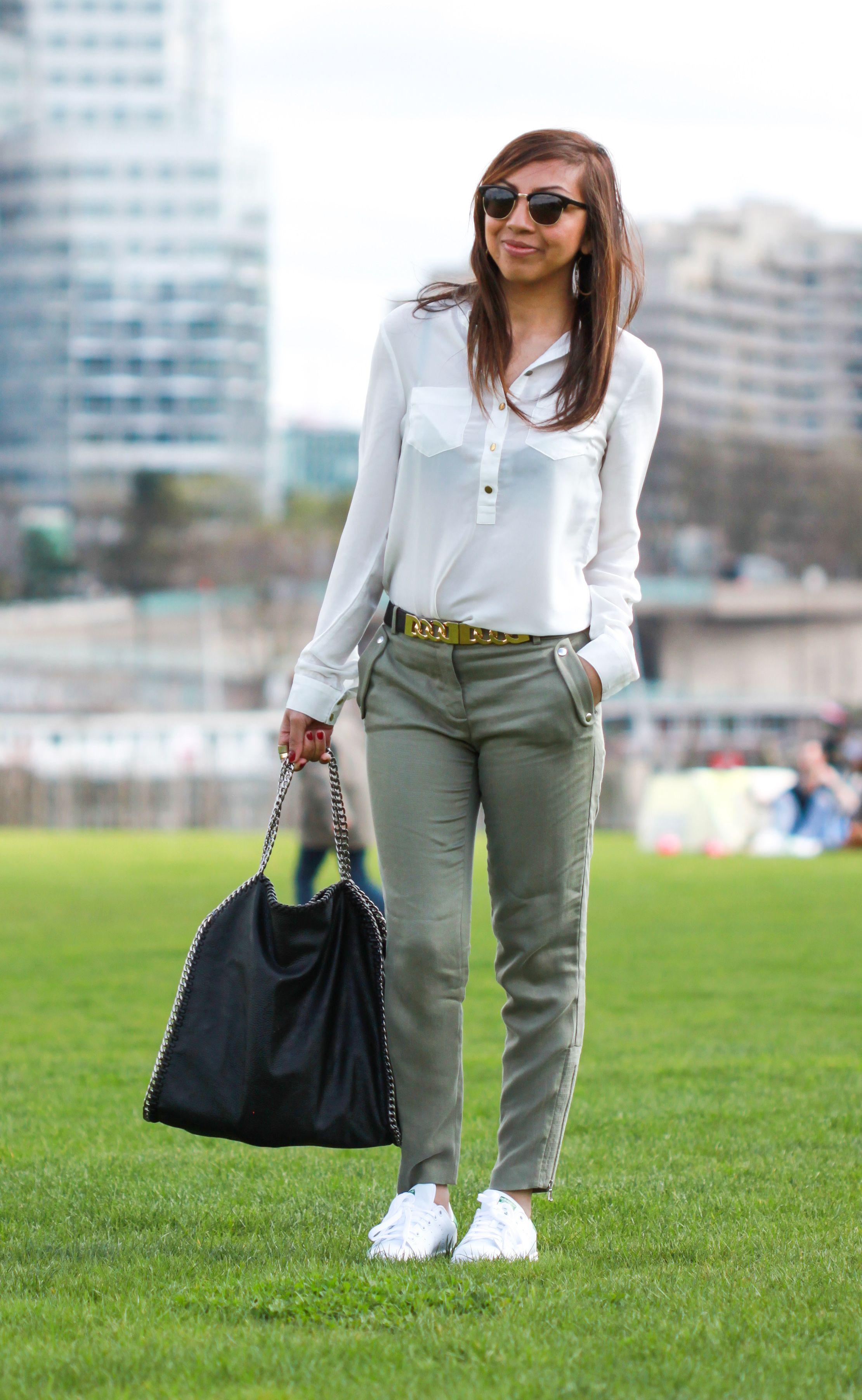 pantalon adidas kaki femme