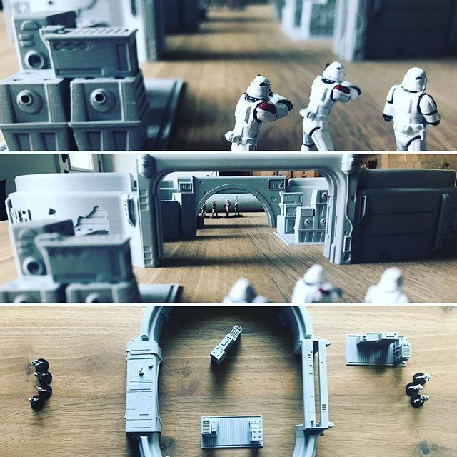 imperial terrain is a star wars legion themed 3d printed terrainscenery shop star wars themed 3d printer stl files or terrain scenery shipped to your