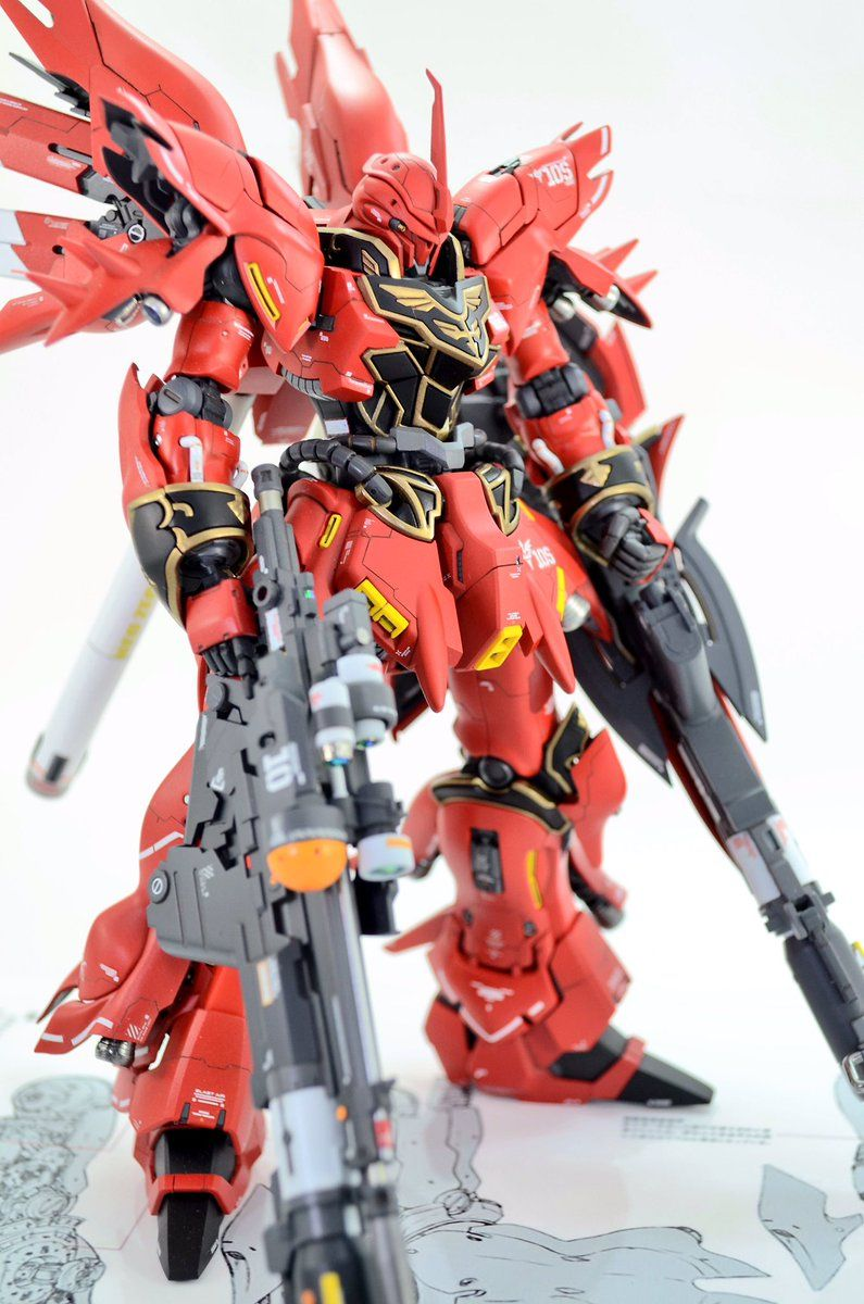 Rg 1 144 Sinanju P Bandai Expansion Part Set Customized Build