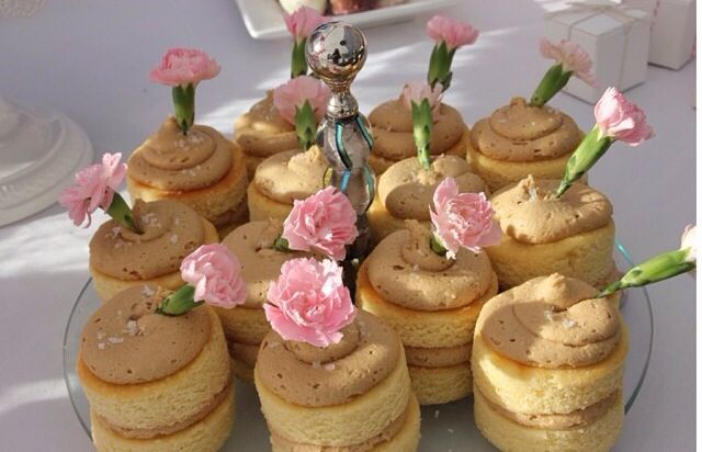 By Tee Cakes salted caramel naked cupcakes