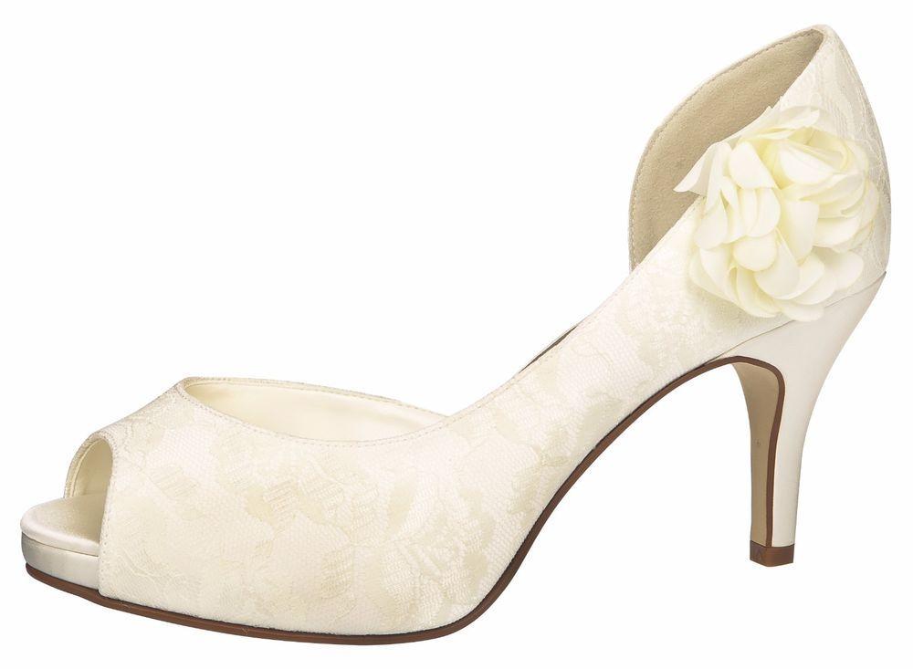 Brautschuhe ivory ebay