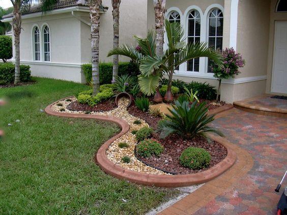 Jardines Modernos Con Palmas Buscar Con Google Jardineria - Jardines-modernos