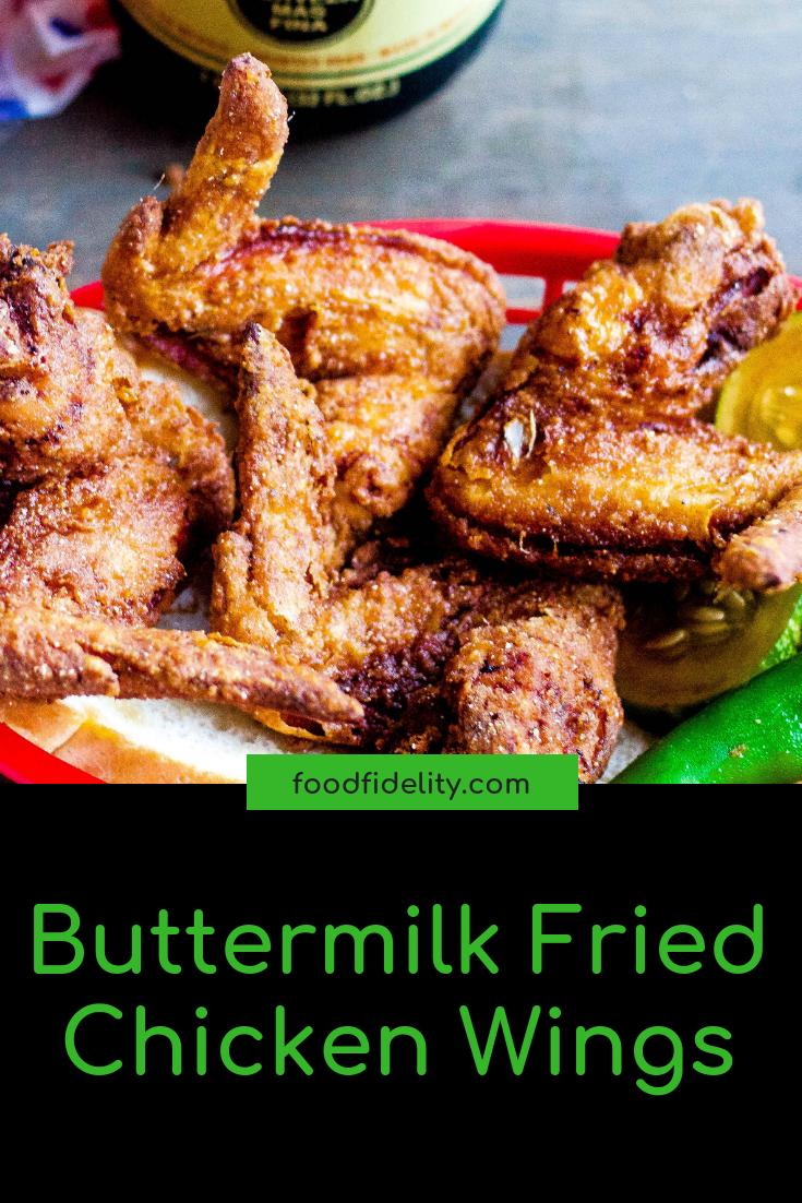 Buttermilk Fried Chicken Wings Recipe Buttermilk Fried Chicken Fried Chicken Wings Chicken Wing Recipes