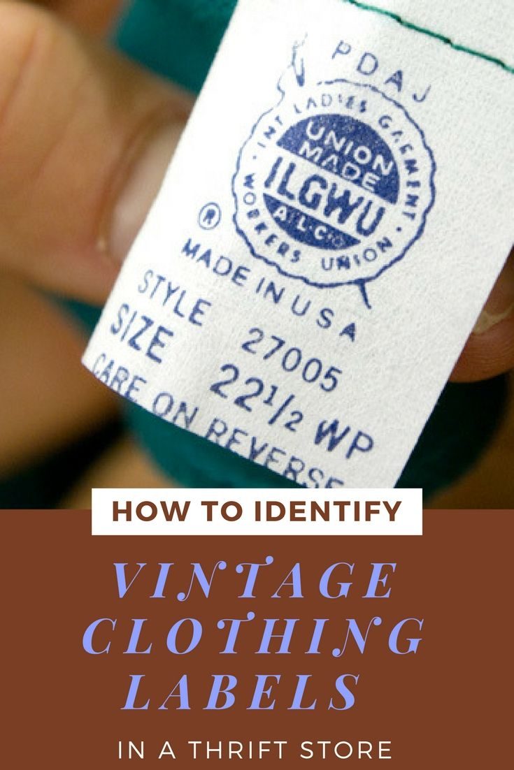 ed654094e8a I wanted to share three easy ways to spot vintage clothing in a thrift  store so that no matter your experience level