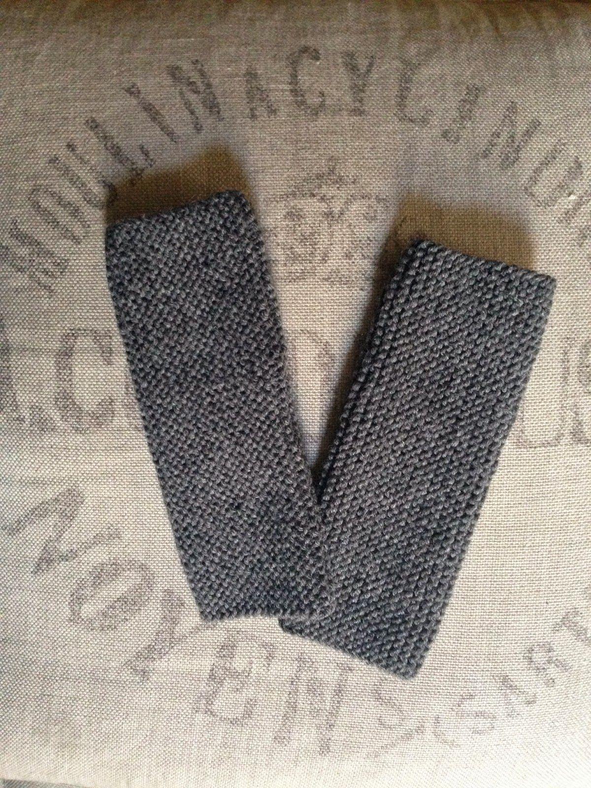 crochet-queen: A little bit of knitting. knitted hand warmers by Edita Ostrova