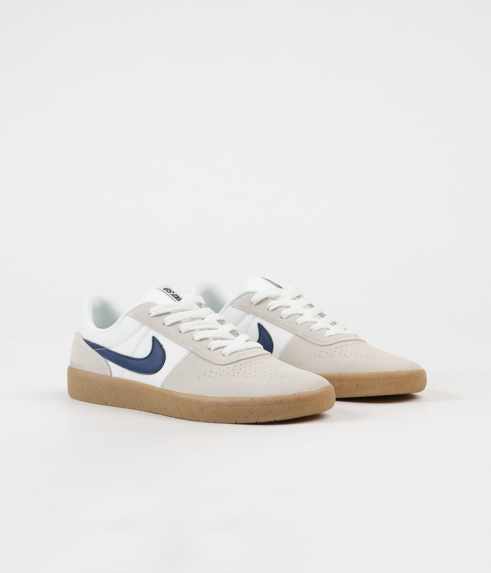daf6b389a906 Nike SB Team Classic Shoes - Summit White   Blue Void - White in ...