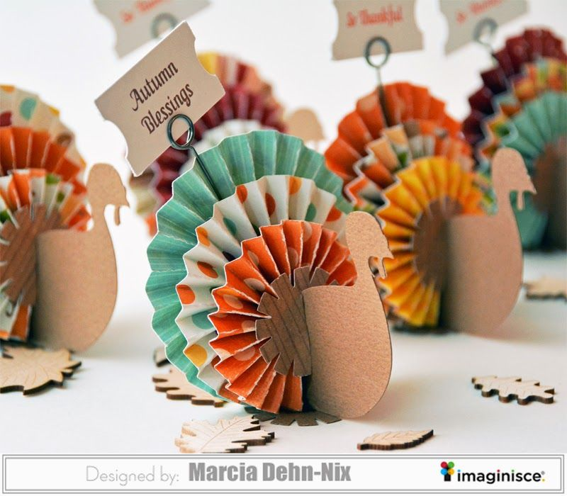 Turkey Day Table Decor with Imaginisce