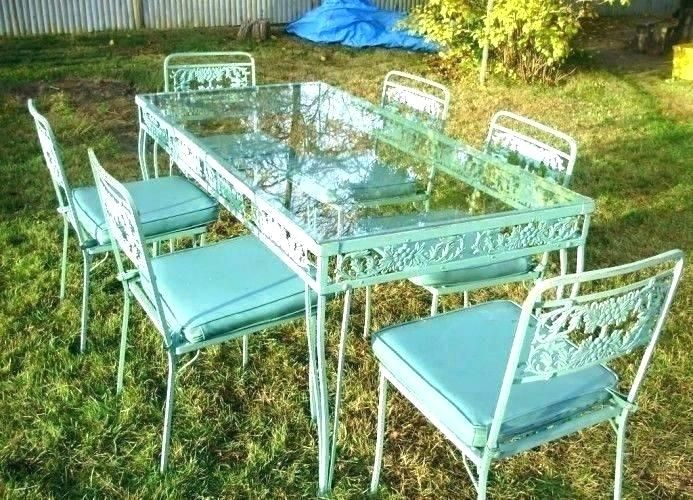 Download Wallpaper Vintage Wrought Iron Patio Furniture For Sale