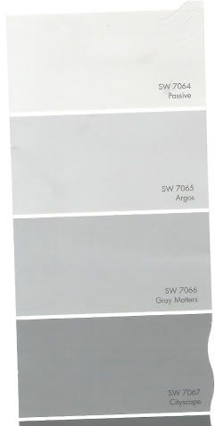 Light Gray Paint Colors i think passive gray is the winner for boys bath.  really