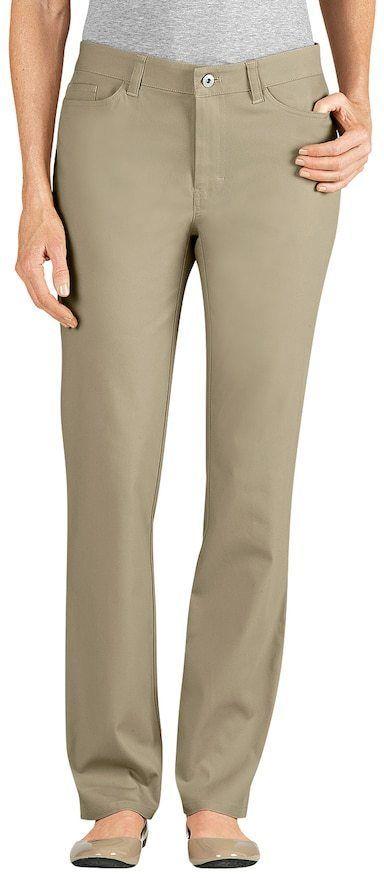 badf20a6f7b Dickies Slim Fit Skinny Twill Pants - Women s