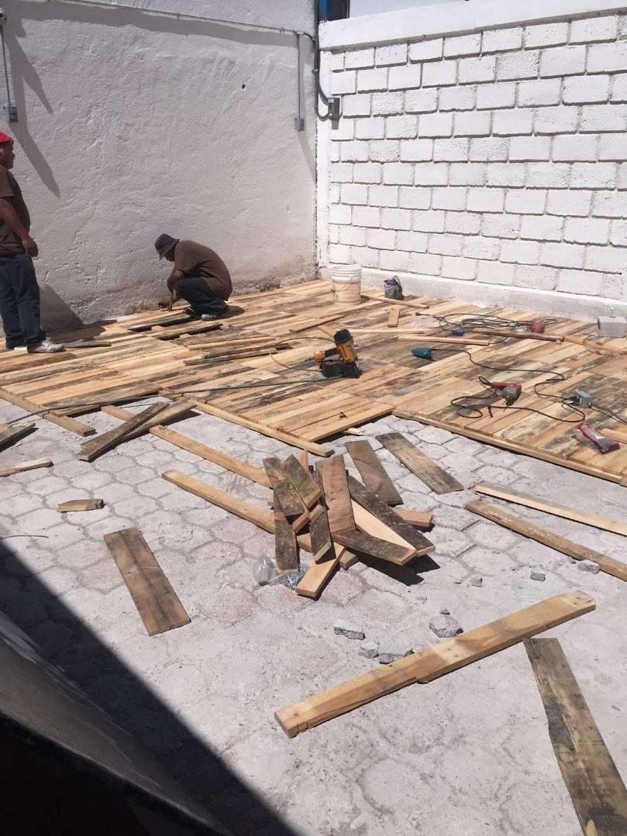 Piso de madera reciclada en mercadolibre casa for Jardin vertical mercadolibre