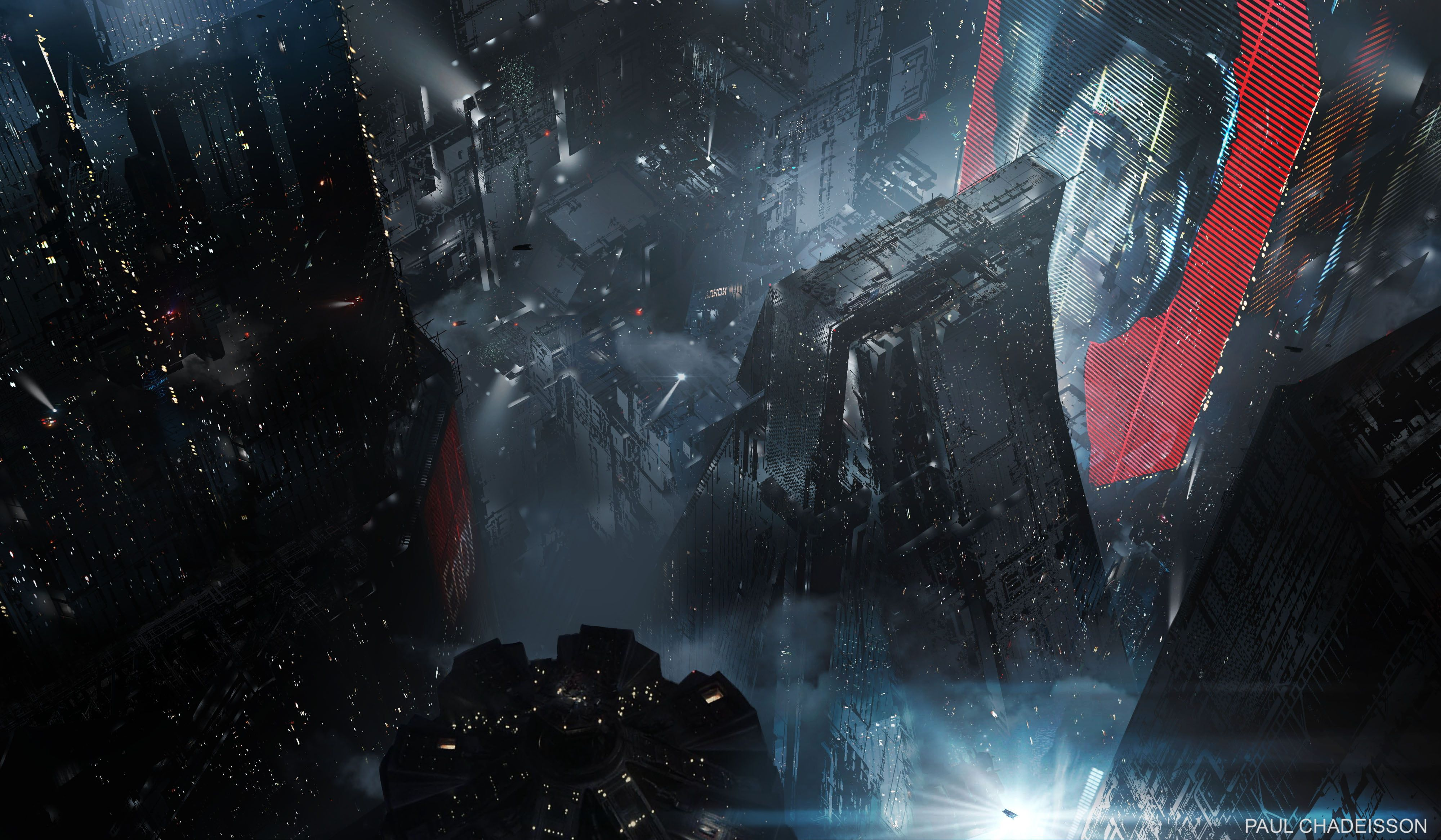 Futuristic Building Graphics Blade Runner 2049 Movies Futuristic Science Fiction 4k Wallpaper Hdwall Blade Runner Blade Runner Wallpaper Blade Runner 2049