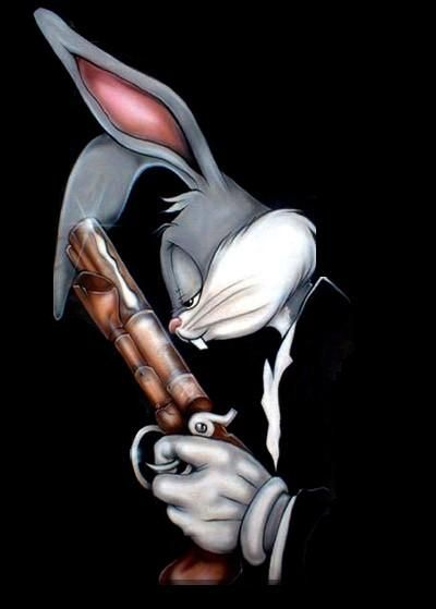 The God Bunny Bugs Bunny Bunny Drawing Looney Tunes Characters