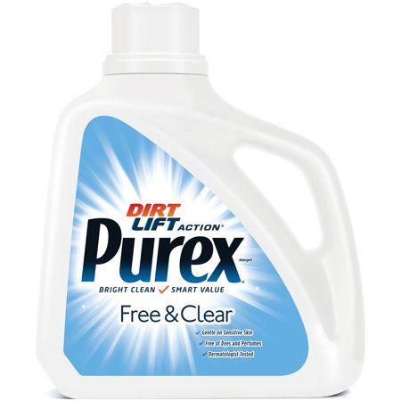 Household Essentials Laundry Detergent Liquid Laundry Detergent Purex Laundry Detergent