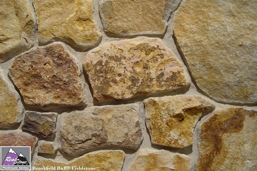 Real Stone Veneer Brookfield Buff Fieldstone