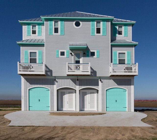 beach house with turquoise interiors exterior house on beach house interior color schemes id=37760