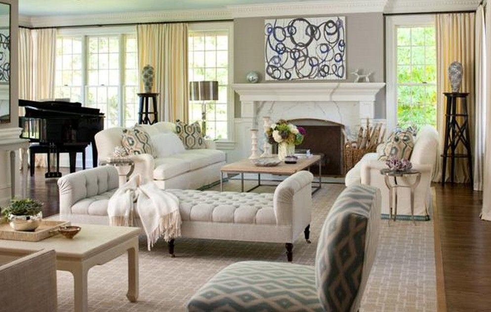 Simple Tips to Make Best Country Living Room Decor: Appealing Living ...