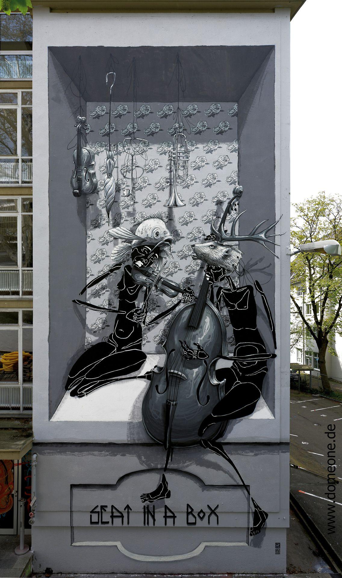 Seat in a boxud der logenplatz by dome graffiti pinterest