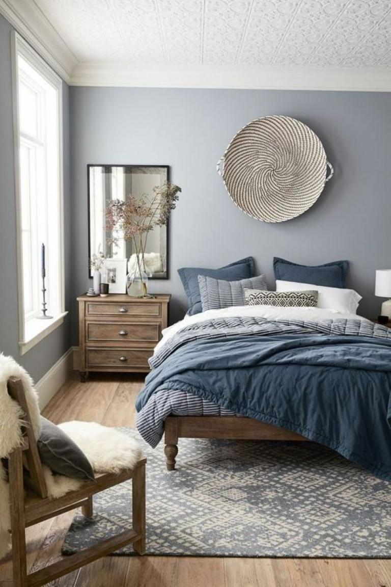 Beautiful Soft Blue Bedroom Ideas Interior Home Decor Design