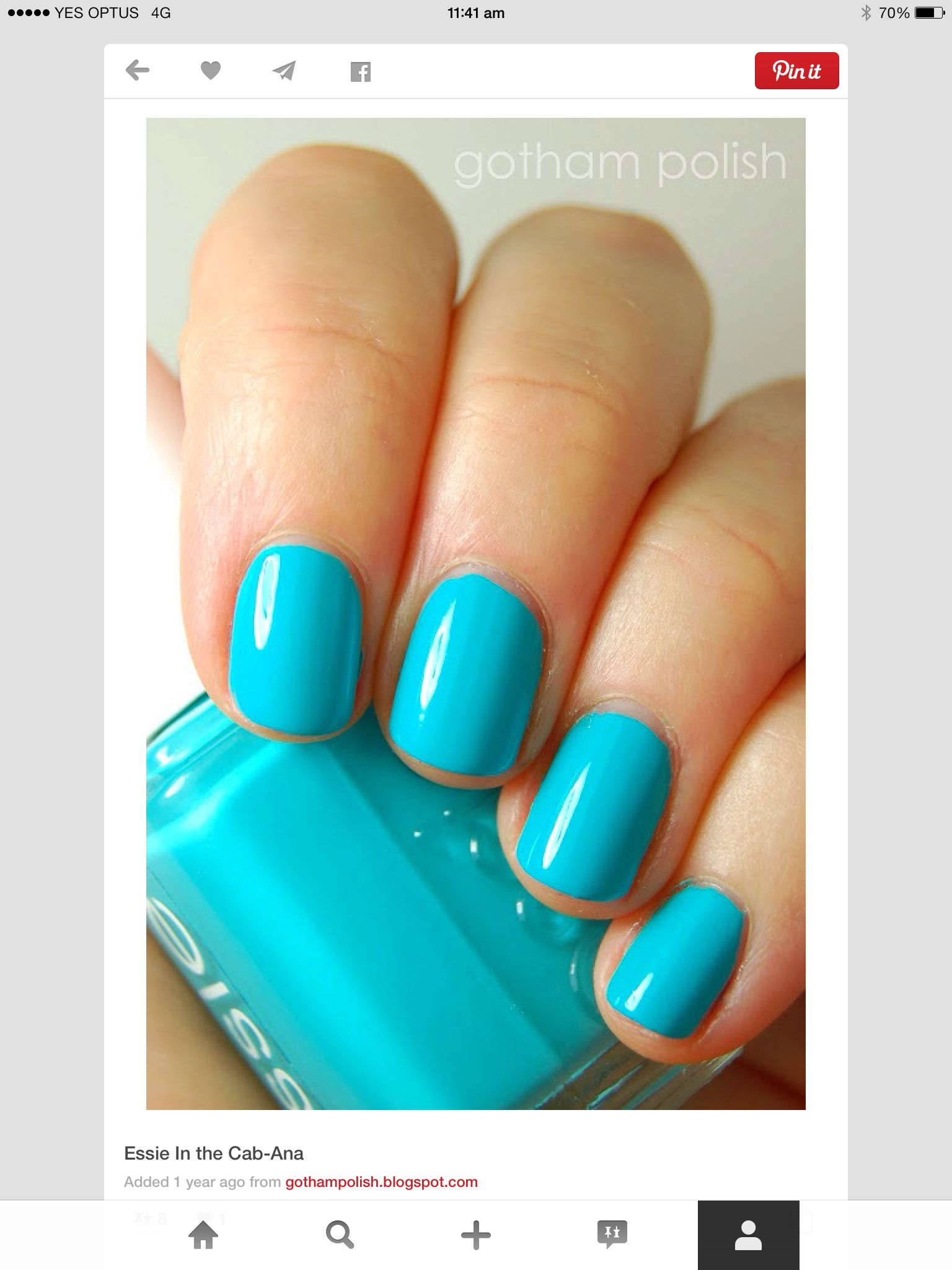 Perfect for summer | Nails and Make Up | Pinterest