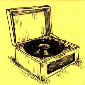 Record Love Vinyl Art Vinyl Junkies Music Illustration