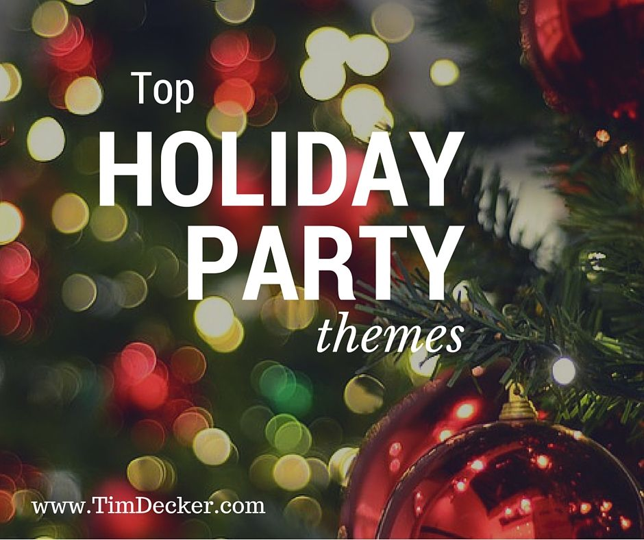top holiday party themes the company holiday party should be all about fun show appreciation for your employees by showing them a good time by hosting a