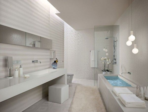 Bathroom design fascinating colorful designs for bathroom white stripe bathroom tiles by fapceramiche