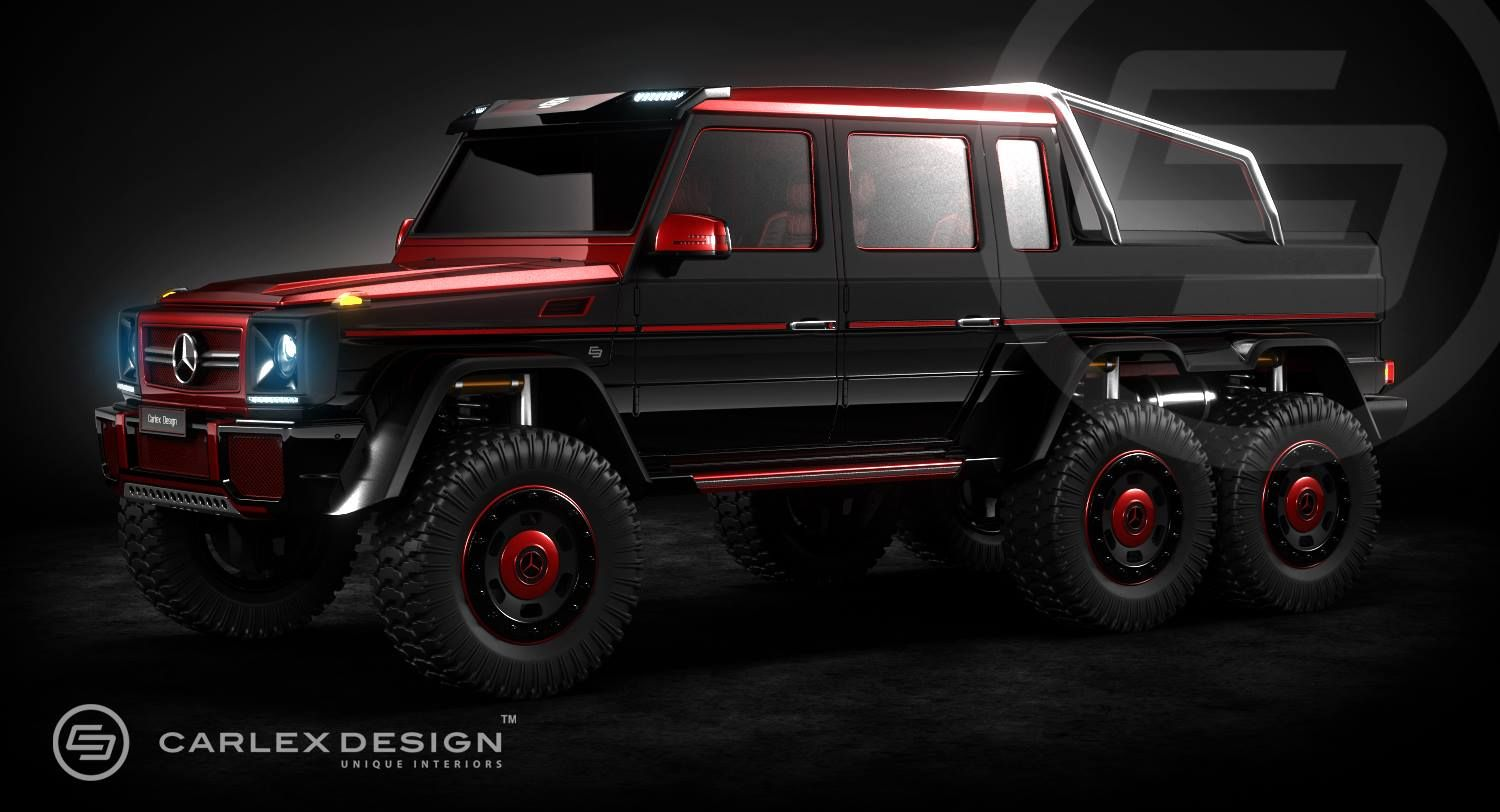 Mercedes v class gets full treatment from carlex design - Carlex Design Recently Revealed Its Gallery Full Of Vehicle Renders Which Included The Mercedes Amg Covered In Black And Crimson Finish